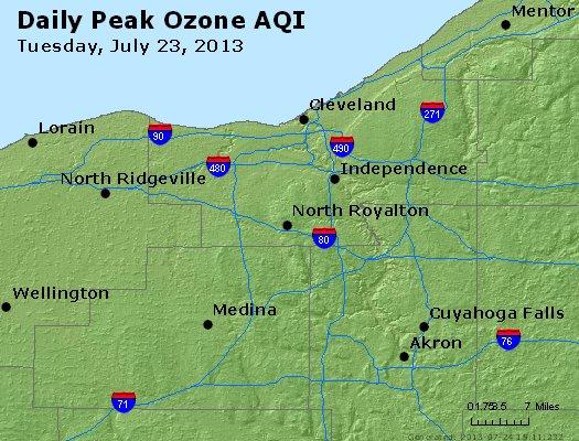 Peak Ozone (8-hour) - http://files.airnowtech.org/airnow/2013/20130723/peak_o3_cleveland_oh.jpg