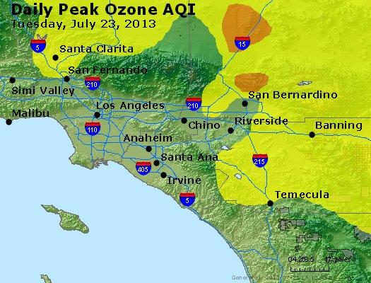 Peak Ozone (8-hour) - http://files.airnowtech.org/airnow/2013/20130723/peak_o3_losangeles_ca.jpg