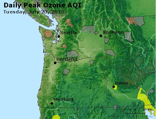 Peak Ozone (8-hour) - http://files.airnowtech.org/airnow/2013/20130723/peak_o3_wa_or.jpg