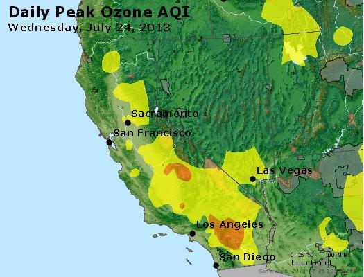 Peak Ozone (8-hour) - http://files.airnowtech.org/airnow/2013/20130724/peak_o3_ca_nv.jpg