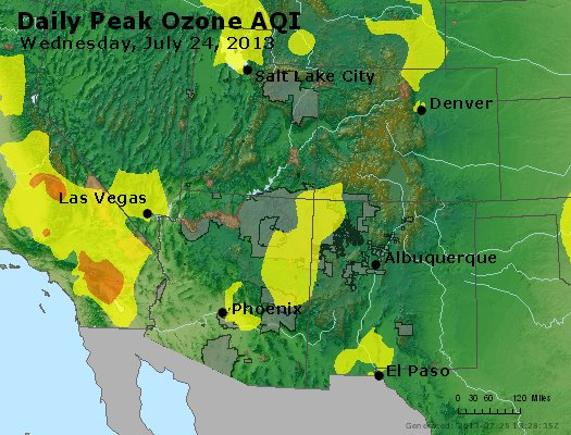 Peak Ozone (8-hour) - http://files.airnowtech.org/airnow/2013/20130724/peak_o3_co_ut_az_nm.jpg