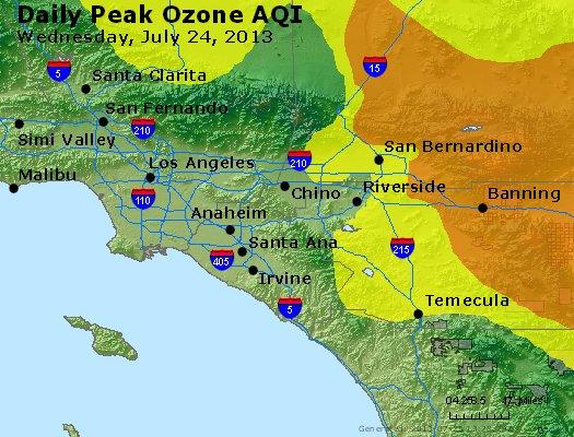 Peak Ozone (8-hour) - http://files.airnowtech.org/airnow/2013/20130724/peak_o3_losangeles_ca.jpg