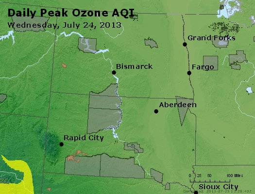 Peak Ozone (8-hour) - http://files.airnowtech.org/airnow/2013/20130724/peak_o3_nd_sd.jpg