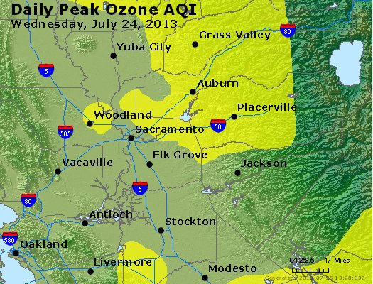 Peak Ozone (8-hour) - http://files.airnowtech.org/airnow/2013/20130724/peak_o3_sacramento_ca.jpg