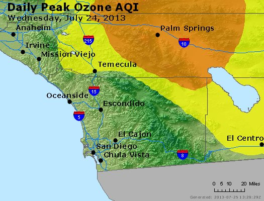 Peak Ozone (8-hour) - http://files.airnowtech.org/airnow/2013/20130724/peak_o3_sandiego_ca.jpg