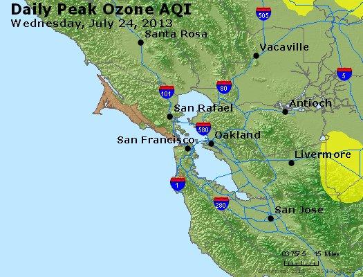 Peak Ozone (8-hour) - http://files.airnowtech.org/airnow/2013/20130724/peak_o3_sanfrancisco_ca.jpg