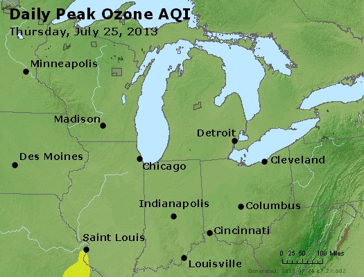 Peak Ozone (8-hour) - http://files.airnowtech.org/airnow/2013/20130725/peak_o3_mi_in_oh.jpg