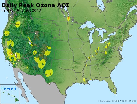 Peak Ozone (8-hour) - http://files.airnowtech.org/airnow/2013/20130726/peak_o3_usa.jpg
