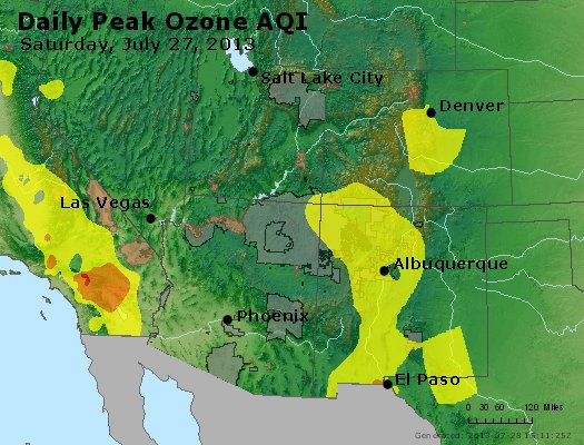 Peak Ozone (8-hour) - http://files.airnowtech.org/airnow/2013/20130727/peak_o3_co_ut_az_nm.jpg