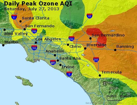 Peak Ozone (8-hour) - http://files.airnowtech.org/airnow/2013/20130727/peak_o3_losangeles_ca.jpg