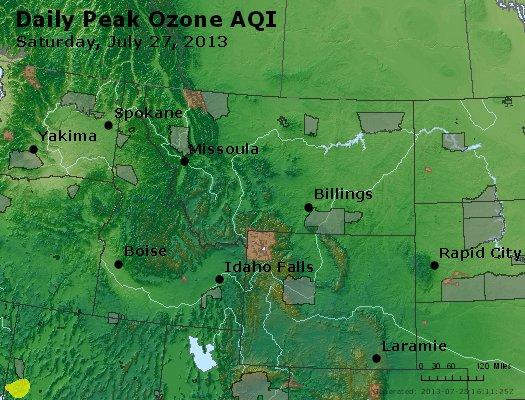 Peak Ozone (8-hour) - http://files.airnowtech.org/airnow/2013/20130727/peak_o3_mt_id_wy.jpg