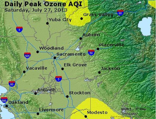 Peak Ozone (8-hour) - http://files.airnowtech.org/airnow/2013/20130727/peak_o3_sacramento_ca.jpg