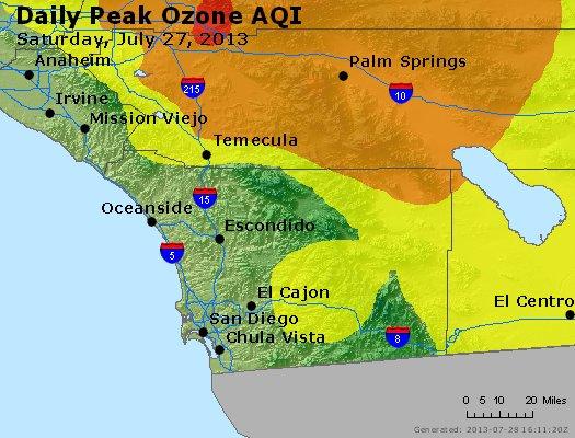 Peak Ozone (8-hour) - http://files.airnowtech.org/airnow/2013/20130727/peak_o3_sandiego_ca.jpg