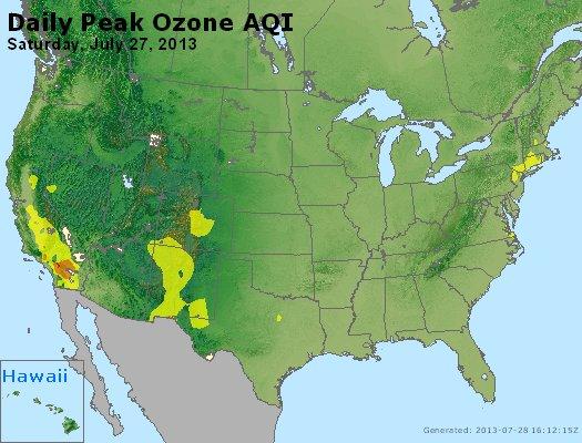 Peak Ozone (8-hour) - http://files.airnowtech.org/airnow/2013/20130727/peak_o3_usa.jpg