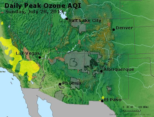 Peak Ozone (8-hour) - http://files.airnowtech.org/airnow/2013/20130728/peak_o3_co_ut_az_nm.jpg