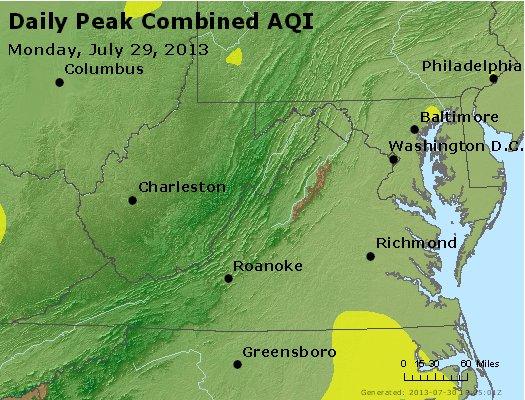 Peak AQI - http://files.airnowtech.org/airnow/2013/20130729/peak_aqi_va_wv_md_de_dc.jpg