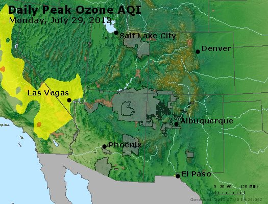 Peak Ozone (8-hour) - http://files.airnowtech.org/airnow/2013/20130729/peak_o3_co_ut_az_nm.jpg