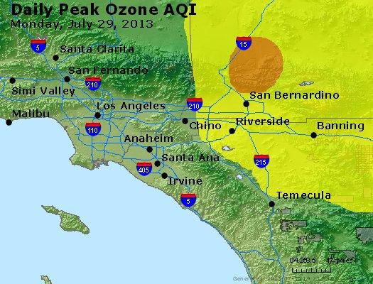 Peak Ozone (8-hour) - http://files.airnowtech.org/airnow/2013/20130729/peak_o3_losangeles_ca.jpg