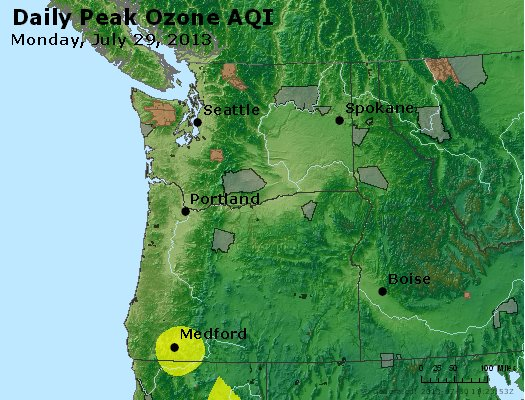 Peak Ozone (8-hour) - http://files.airnowtech.org/airnow/2013/20130729/peak_o3_wa_or.jpg