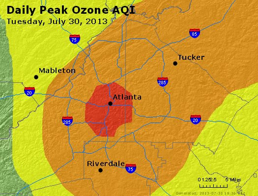 Peak Ozone (8-hour) - http://files.airnowtech.org/airnow/2013/20130730/peak_o3_atlanta_ga.jpg