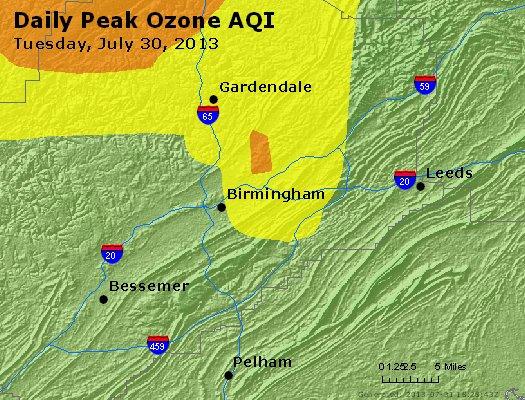 Peak Ozone (8-hour) - http://files.airnowtech.org/airnow/2013/20130730/peak_o3_birmingham_al.jpg