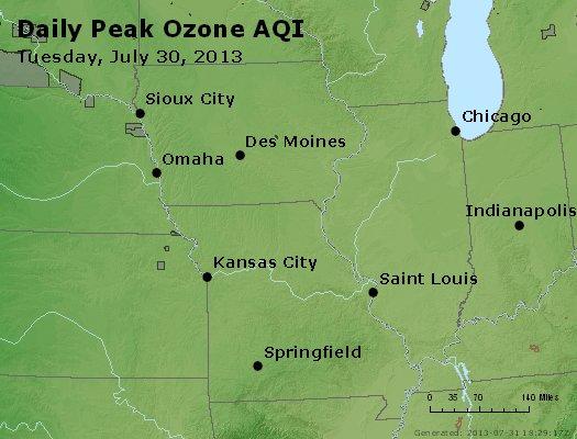 Peak Ozone (8-hour) - http://files.airnowtech.org/airnow/2013/20130730/peak_o3_ia_il_mo.jpg