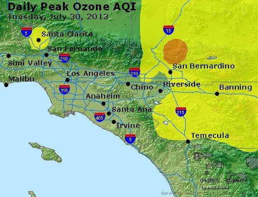 Peak Ozone (8-hour) - http://files.airnowtech.org/airnow/2013/20130730/peak_o3_losangeles_ca.jpg