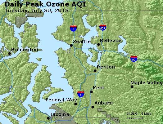 Peak Ozone (8-hour) - http://files.airnowtech.org/airnow/2013/20130730/peak_o3_seattle_wa.jpg