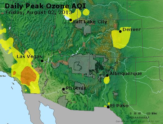 Peak Ozone (8-hour) - http://files.airnowtech.org/airnow/2013/20130802/peak_o3_co_ut_az_nm.jpg
