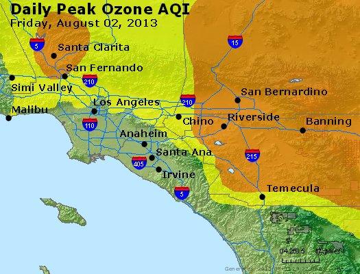 Peak Ozone (8-hour) - http://files.airnowtech.org/airnow/2013/20130802/peak_o3_losangeles_ca.jpg