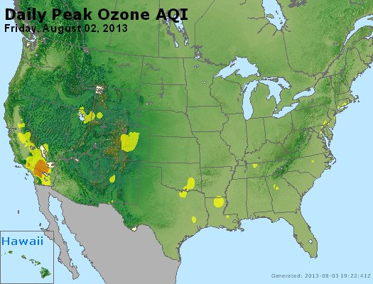 Peak Ozone (8-hour) - http://files.airnowtech.org/airnow/2013/20130802/peak_o3_usa.jpg