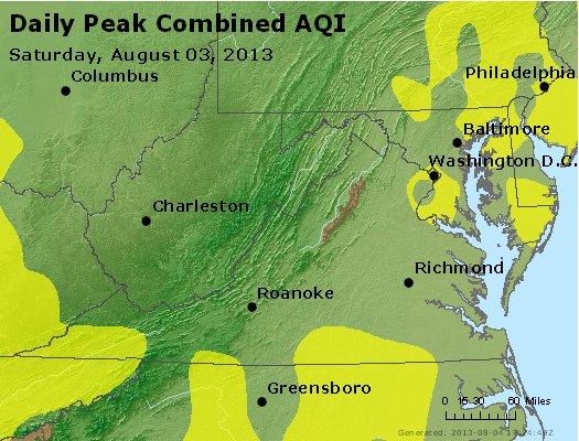 Peak AQI - http://files.airnowtech.org/airnow/2013/20130803/peak_aqi_va_wv_md_de_dc.jpg