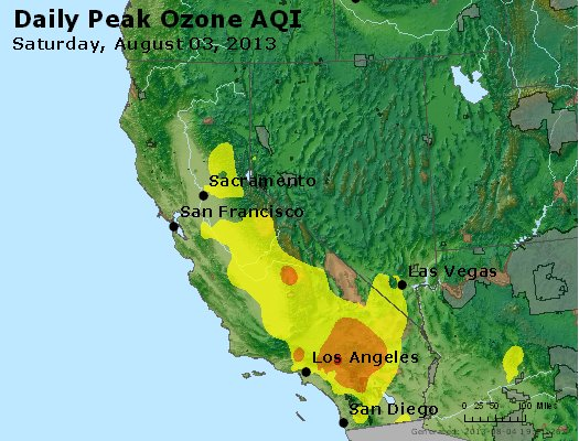 Peak Ozone (8-hour) - http://files.airnowtech.org/airnow/2013/20130803/peak_o3_ca_nv.jpg