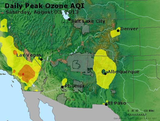 Peak Ozone (8-hour) - http://files.airnowtech.org/airnow/2013/20130803/peak_o3_co_ut_az_nm.jpg