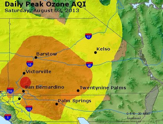 Peak Ozone (8-hour) - http://files.airnowtech.org/airnow/2013/20130803/peak_o3_sanbernardino_ca.jpg