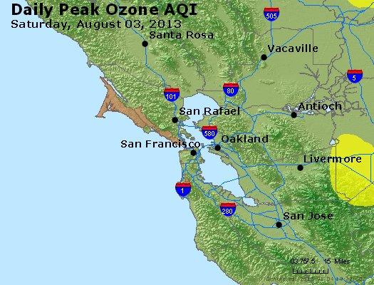 Peak Ozone (8-hour) - http://files.airnowtech.org/airnow/2013/20130803/peak_o3_sanfrancisco_ca.jpg