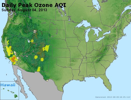 Peak Ozone (8-hour) - http://files.airnowtech.org/airnow/2013/20130804/peak_o3_usa.jpg