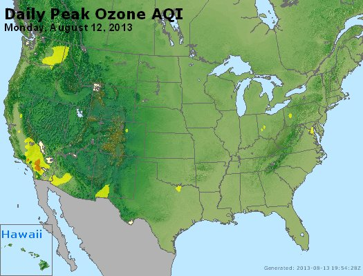 Peak Ozone (8-hour) - http://files.airnowtech.org/airnow/2013/20130812/peak_o3_usa.jpg