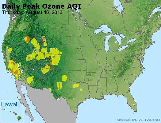 Peak Ozone (8-hour) - http://files.airnowtech.org/airnow/2013/20130815/peak_o3_usa.jpg
