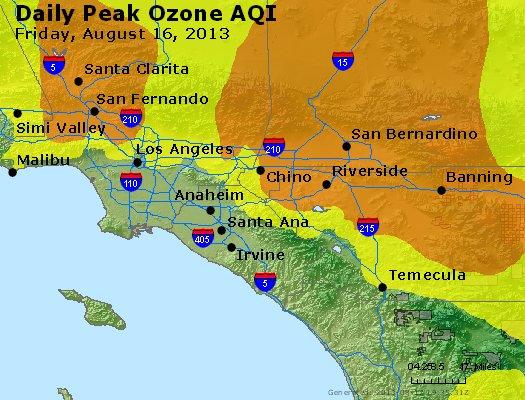 Peak Ozone (8-hour) - http://files.airnowtech.org/airnow/2013/20130816/peak_o3_losangeles_ca.jpg