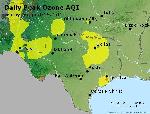 Peak Ozone (8-hour) - http://files.airnowtech.org/airnow/2013/20130816/peak_o3_tx_ok.jpg
