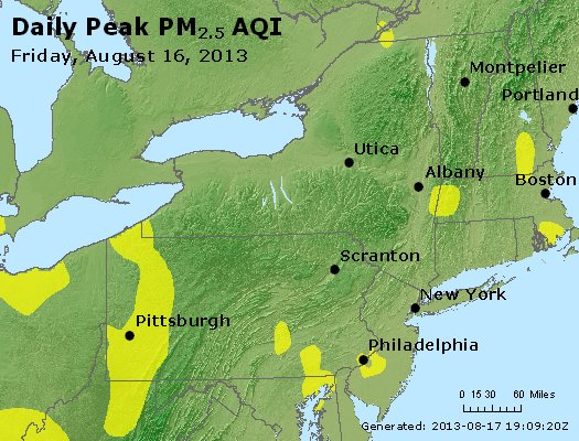 Peak Particles PM<sub>2.5</sub> (24-hour) - http://files.airnowtech.org/airnow/2013/20130816/peak_pm25_ny_pa_nj.jpg