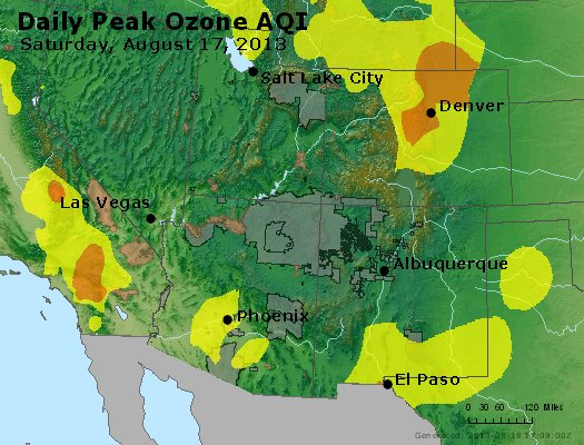 Peak Ozone (8-hour) - http://files.airnowtech.org/airnow/2013/20130817/peak_o3_co_ut_az_nm.jpg