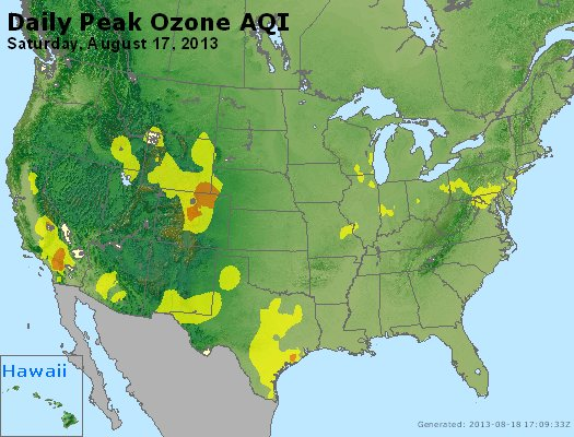 Peak Ozone (8-hour) - http://files.airnowtech.org/airnow/2013/20130817/peak_o3_usa.jpg
