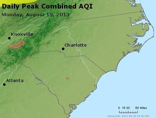 Peak AQI - http://files.airnowtech.org/airnow/2013/20130819/peak_aqi_nc_sc.jpg