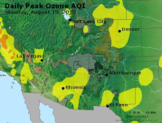 Peak Ozone (8-hour) - http://files.airnowtech.org/airnow/2013/20130819/peak_o3_co_ut_az_nm.jpg