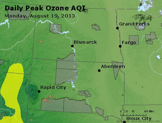 Peak Ozone (8-hour) - http://files.airnowtech.org/airnow/2013/20130819/peak_o3_nd_sd.jpg