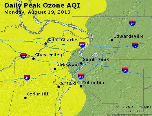 Peak Ozone (8-hour) - http://files.airnowtech.org/airnow/2013/20130819/peak_o3_stlouis_mo.jpg