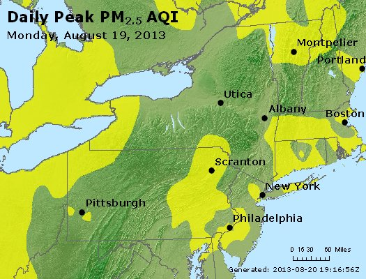 Peak Particles PM<sub>2.5</sub> (24-hour) - http://files.airnowtech.org/airnow/2013/20130819/peak_pm25_ny_pa_nj.jpg