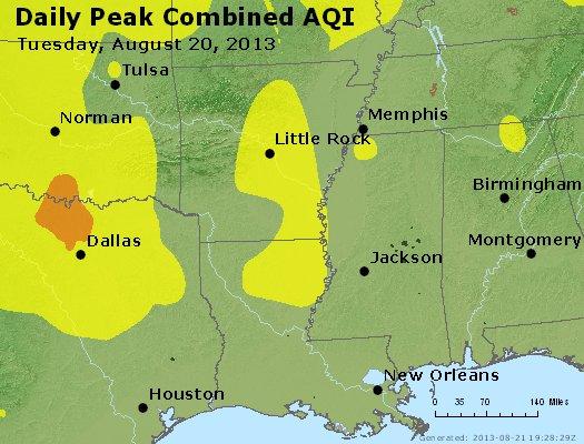 Peak AQI - http://files.airnowtech.org/airnow/2013/20130820/peak_aqi_ar_la_ms.jpg